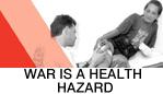 War is a health hazard (Banner-Image)
